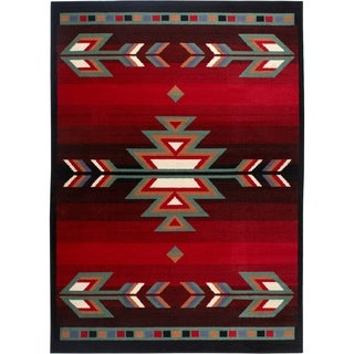 "Home Dynamix Premium Collection Contemporary Black Area Rug  (3'7X5'2"")"