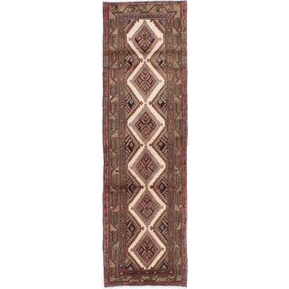 Ecarpetgallery Hand-Knotted Persian Koliai Beige Wool Rug (2'6 x 9')