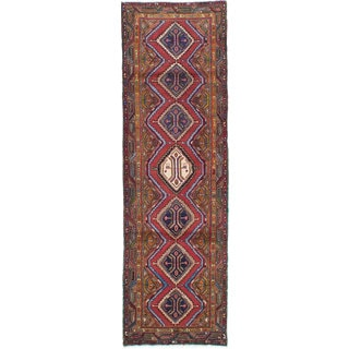 Ecarpetgallery Hand-Knotted Persian Koliai Red Wool Rug (2'9 x 9'1)