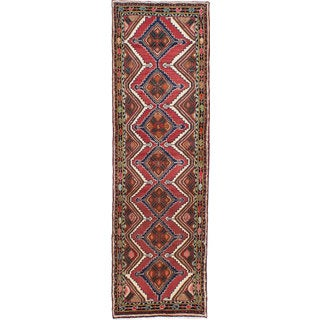 Ecarpetgallery Hand-Knotted Persian Koliai Red Wool Rug (2'7 x 8'9)
