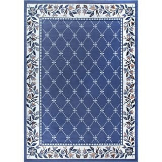 "Home Dynamix Premium Collection Country Blue (21"" X 35"") Machine Made Polypropylene Accent Rug