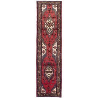 Ecarpetgallery Hand-Knotted Persian Koliai Red Wool Rug (2'8 x 10'8)