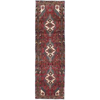 Ecarpetgallery Hand-Knotted Persian Koliai Orange Wool Rug (2'7 x 8'11)