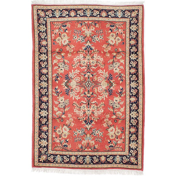 Ecarpetgallery Hand-Knotted Persian Sarough Brown Wool Rug - 3'3 x 4'8