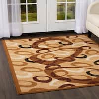 "Home Dynamix Premium Collection Contemporary Sand Accent Rug - 3'7"" X 5'2"""