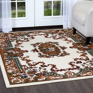 """Home Dynamix Premium Collection Traditional (21"""" X 35"""") Machine Made Polypropylene Accent Rug"""