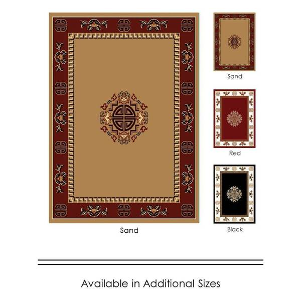 home dynamix premium collection traditional accent rug 21 x 35 free shipping on orders. Black Bedroom Furniture Sets. Home Design Ideas