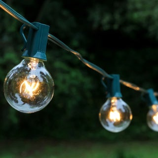 Electric Globe String Lights with 25 Lights