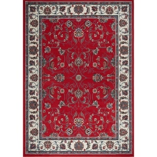 """Home Dynamix Premium Collection Traditional (3'7"""" X 5'2"""") Machine Made Polypropylene Area Rug"""