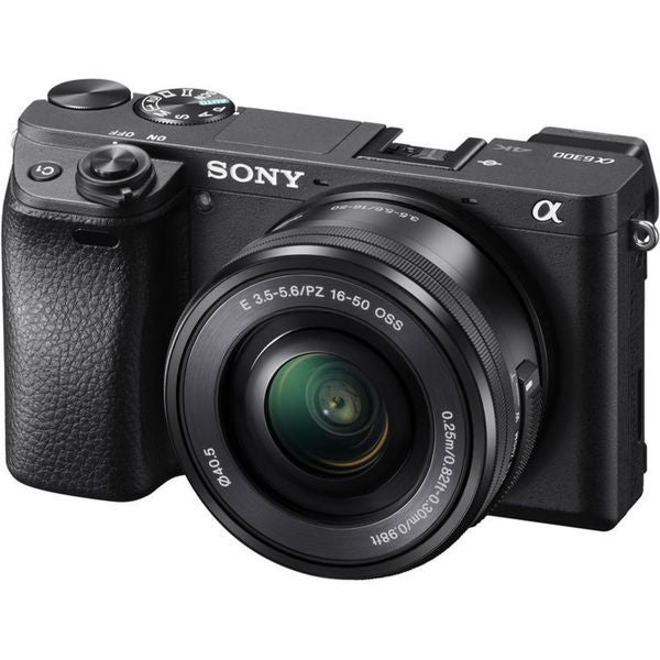 Sony Alpha a6300 Mirrorless Digital Camera with 16-50mm 18078436