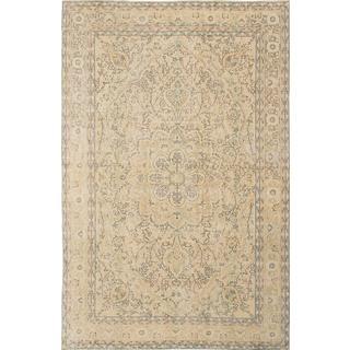 Ecarpetgallery Hand-Knotted Anatolian Sunwash Beige Wool Rug (6'11 x 10'10)