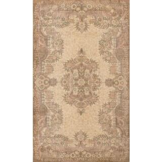 Ecarpetgallery Hand-Knotted Anatolian Sunwash Beige Wool Rug (5'10 x 10')