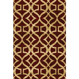 "Home Dynamix Royalty Collection Traditional Red Area Rug (31""x 50"")