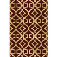 Home Dynamix Royalty Collection Traditional Red Area Rug - S