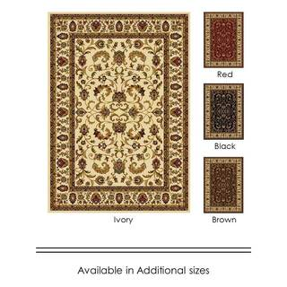 "Home Dynamix Royalty Collection Traditional (43""X62"") Machine Made Polypropylene Area Rug"