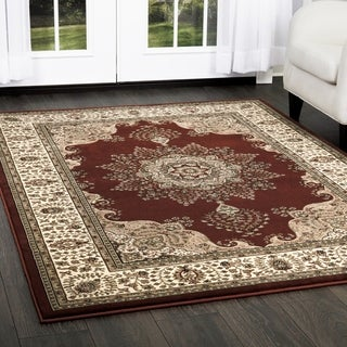 Home Dynamix Triumph Collection Traditional Area Rug (3'9 x 5'2)