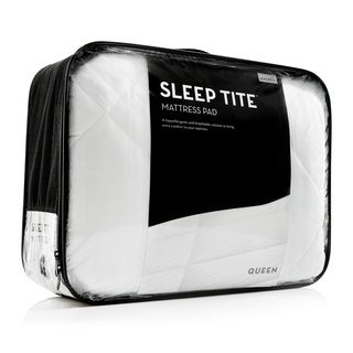SLEEP TITE Deep Pocket Fit Quilted Mattress Pad with Damask Cover and Down Alternative Fill|https://ak1.ostkcdn.com/images/products/11654217/P18585281.jpg?_ostk_perf_=percv&impolicy=medium
