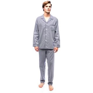 Men's Mediterranean Mosaic L/S Pajama Set