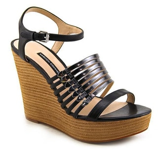 French Connection Women's 'Demi' Leather Sandals
