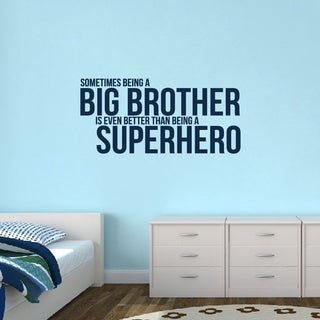 Big Brother 'Superhero' Large Wall Decal