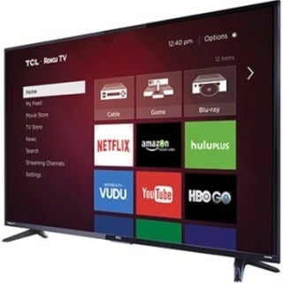 "TCL 55FS3750 55"" 1080p LED-LCD TV - 16:9 - HDTV 1080p - High Glossy B"