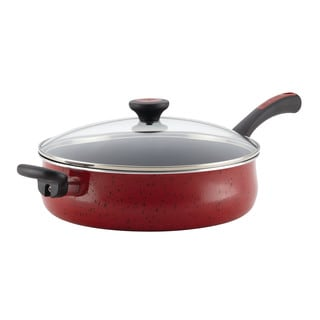 Paula Deen Riverbend Aluminum Nonstick 5-Quart Covered Jumbo Cooker with Helper Handle