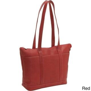 LeDonne Leather Large Pocket Tote Bag