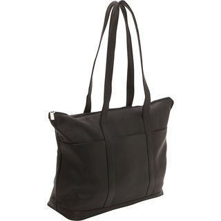 LeDonne Leather Large Pocket Tote Bag