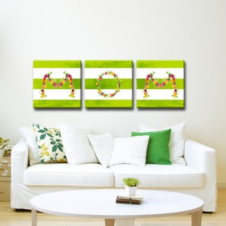 Ready2HangArt 'MOM' Wrapped Canvas Art