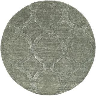 Hand-Tufted Swindon Wool Rug (8' Round)