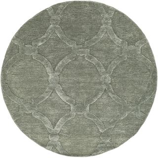 Hand-Tufted Swindon Wool Rug (6' Round)