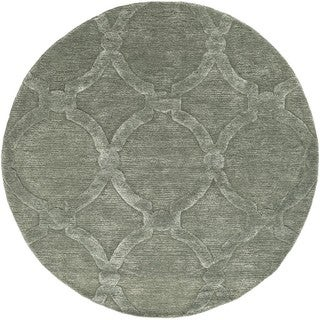 Hand-tufted Swindon Wool Rug (3'6 Round)