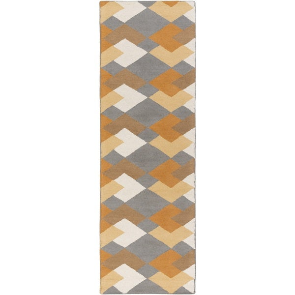 Hand Tufted Pico Wool Rug (2'3 x 10')
