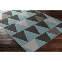 Hand Tufted Oxon Wool Rug - 3' x 5'