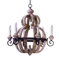 Maxim Olde World-Single-Tier Chandelier