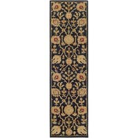 Hand-Tufted Blyth Floral Wool Rug (2'3 x 12')