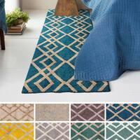 Hand-Tufted Keynsham Wool Rug - 2'3 x 10'