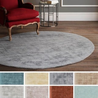 Hand-Tufted Kesgrave Viscose Rug (3'6 Round) - 3'6