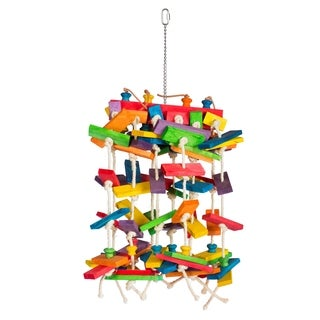 Prevue Pet Products 60944 Bodacious Bites Waterfall Bird Toy