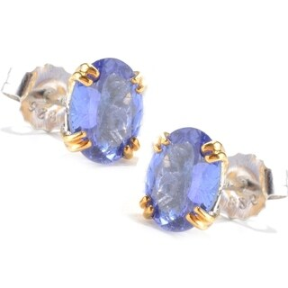 Michael Valitutti Tanzanite Stud Earrings