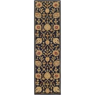 Hand-Tufted Blyth Floral Wool Rug