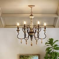 Maxim Olde World-Single-Tier Chandelier - N/A