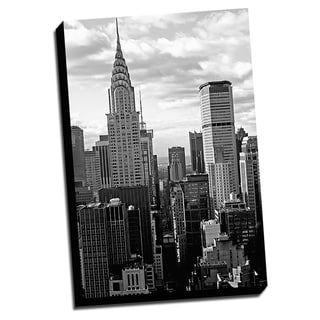 BandW New York City Printed on Framed Ready to Hang Canvas