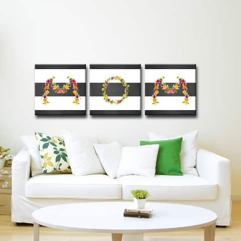 MOM II' Mother's Day Wrapped Canvas Wall Art