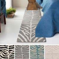 Hand-Tufted Belt Wool Rug