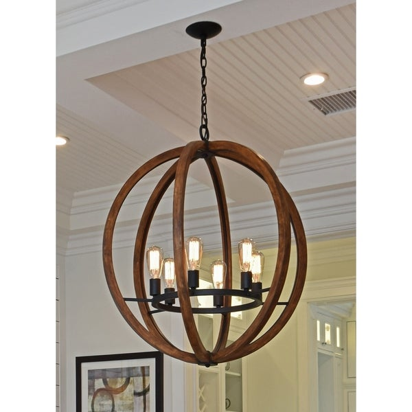 Maxim Bodega Bay-Single-Tier Chandelier - Free Shipping Today ...