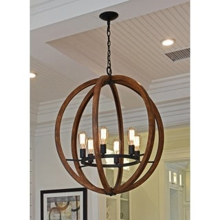 Maxim Bodega Bay-Single-Tier Chandelier