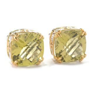 Michael Valitutti Ouro Verde Stud Earrings