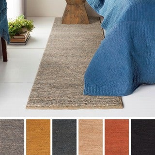 Hand-Woven Bank Hemp Rug (2'3 x 12') (More options available)