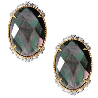 Michael Valitutti Mother of Pearl Earrings